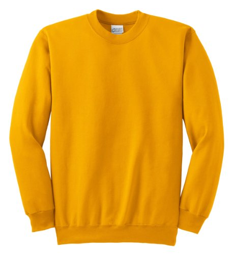 Port & Company Men's Ultimate Crewneck Sweatshirt XL Gold