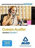 Cuerpo Auxiliar de la Administración del Principado de Asturias. Temario volumen 1