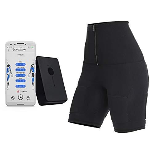 NINI Ccsme estimulador Muscular Entrenador del músculo Abdominal de tóner electrónicos Inteligentes Pantalones inalámbrica Electroestimulador ccsme Adelgazar Belleza,XXL