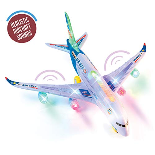 Top Race Airplane Airbus Toy Modelo con...