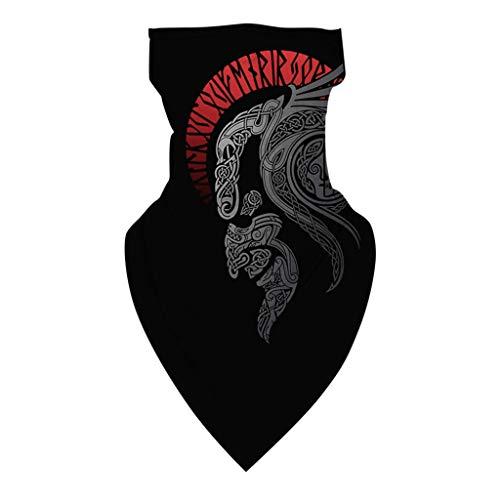 Andouy Kopftuch Bandana Mode Halstuch Stirnband Unisex Schlauchtuch Schal Kopfbedeckung Halsmanschette Frauen Männer Multifunktionstuch(23.5X45CM.Y)
