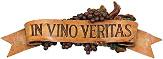 Design Toscano In Vino Veritas Wall Plaque