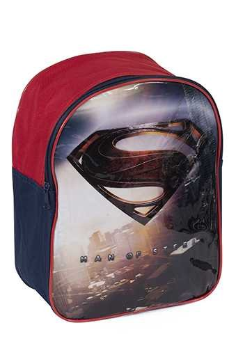 Sac à dos Superman Man of Steel - DC Comics - Super héros - école bleu et rouge