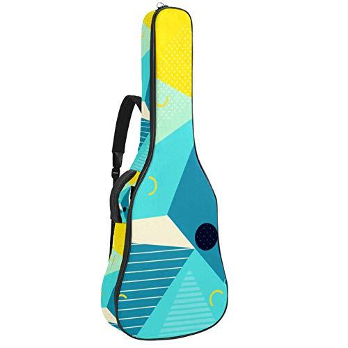 Funda protectora acolchada impermeable para guitarra...