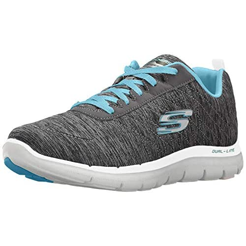 41+RokZ6KoL. SS500  - Skechers Women's Flex Appeal 2.0 Multisport Outdoor Shoes
