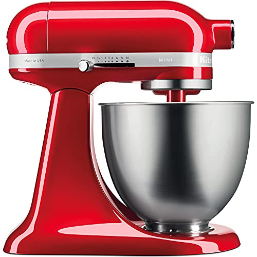 Kitchenaid 291107 5KSM3311XECA 3,3 l Mela, Colore: Rosso