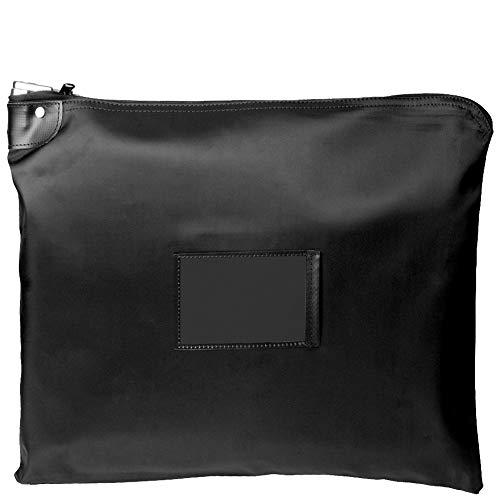 Black – HIPAA – 15 x 19 Locking Courier Bag