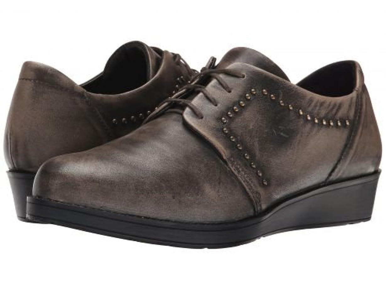 慣性バズ安西Naot(ナオト) レディース 女性用 シューズ 靴 オックスフォード 紳士靴 通勤靴 Embrace - Vintage Gray Leather [並行輸入品]