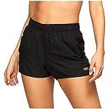 RVCA(ルーカ) ボトムス カジュアルパンツ RVCA Yogger Stretch Shorts - Women's Black レディース [並行輸入品]