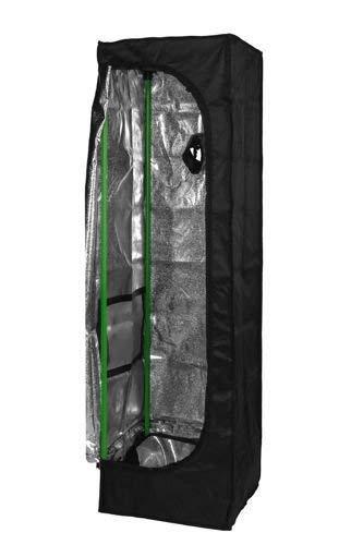 Herbgarden 40 Growbox Growzelt 40x40 x 140 cm Zuchtzelt 0.4x0.4x1.4m Pflanzzelt