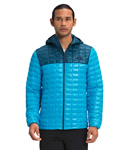 The North Face Men's ThermoBall Eco Hoodie, Meridian Blue/Monterey Blue, M