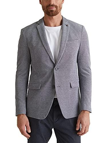 ESPRIT Jersey-Sakko aus 100% Baumwolle