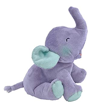 MerryMakers If Animals Kissed Good Night Soft Plush Baby Elephant Stuffed Animal Toy 8-Inch from Ann Whitford Paul s If Animals Kissed Good Night Book Series Purple  1862
