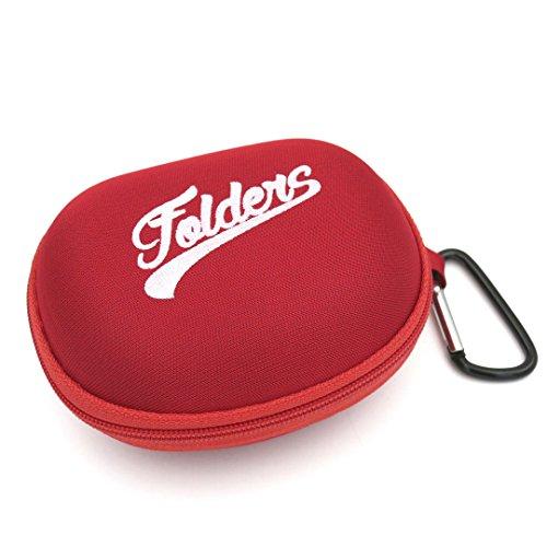 Pufmania Funda Semi Rígida para gafas plegables Folders (Rojo)