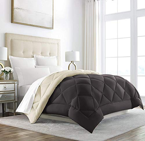 Sleep Restoration King Size Comforter for Bed - Down Alternative, Heavy, All-Season Luxury, Hotel...