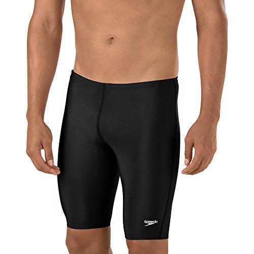 Speedo Men's Swimsuit Jammer ProLT Solid, Black, 28