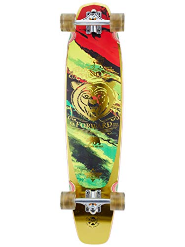 Dusters Rasta Kodiak Funboard - 36 Inch Longboard komplett