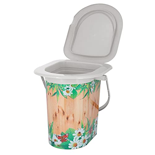 4BIG.fun Tragbare Camping Toilette Reisetoilette Klo WC Outdoor Reise Eimer LKW
