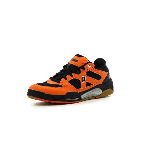 Prince PRINCE NFS Attack Squashschuhe, Shoe Size- 8 UK, Color- Black/Orange