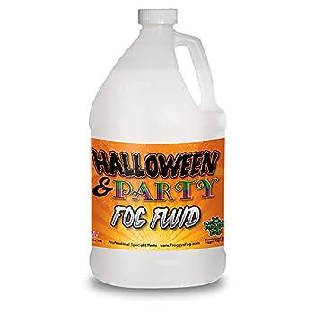 1 Gallon  128 Oz  Great Party & DJ Fog Juice for Water Based Fog Machines - American Made - Perfect Fog Fluid for Small 400 Watt to Higher Wattage 1500 Watt Foggers