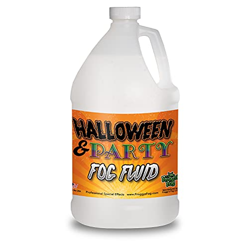 1 Gallon (128 Oz.) Great Party & DJ Fog Juice for Water Based Fog Machines - American Made - Perfect Fog Fluid for Small 400 Watt to Higher Wattage 1500 Watt Foggers