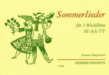 Sommerlieder: für 2 Blockflöten (SS/AA/TT)
