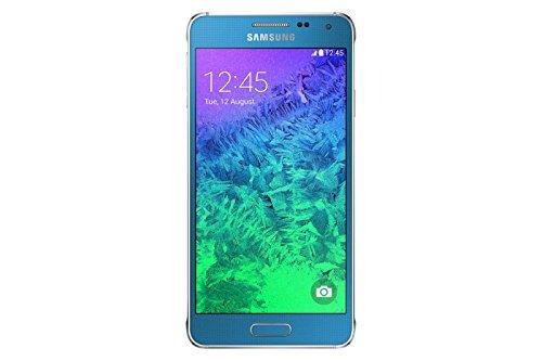Samsung Galaxy Alpha Smartphone (4,7 Zoll (11,9 cm) Touch-Display, 32 GB Speicher, Android 4.4) blau