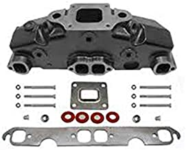 Dry Joint Exhaust Manifold 5.0L / 305CI to 5.7L / 350CI Mercruiser Style