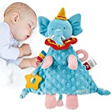 Security Blanket Elephant Baby Stuff for Newborn Baby Boy Girl Blankets Loveys for Babies Newborn Baby Toys 3-6 Months Baby Comforter 0-3-6 to 12 Months