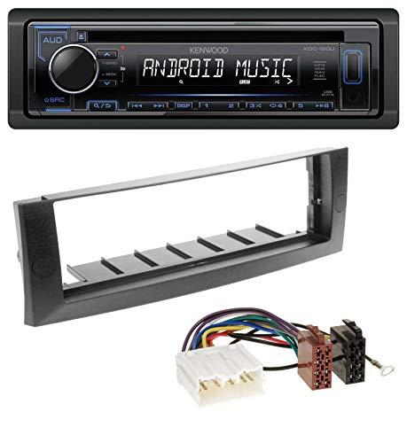 caraudio24 Kenwood KDC-110UB 1DIN MP3 USB CD AUX Autoradio für Mitsubishi Colt (2004-2008)