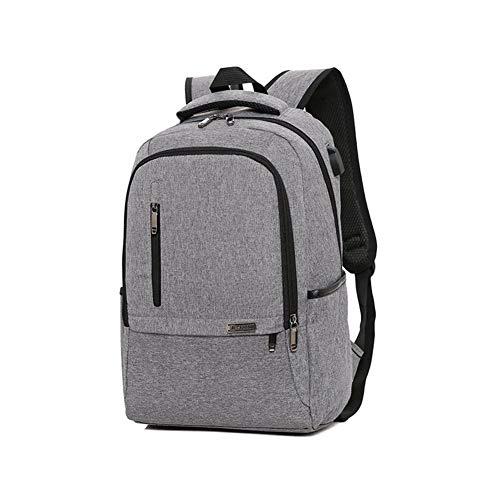 College School Bag Work Daypack Großhandel Neue Wilde unsubdivided USB-Computer-Beutel-Hochkapazitäts-Reisen Rucksack Tasche (Color : Gray, Size : 45 * 30 * 16cm)