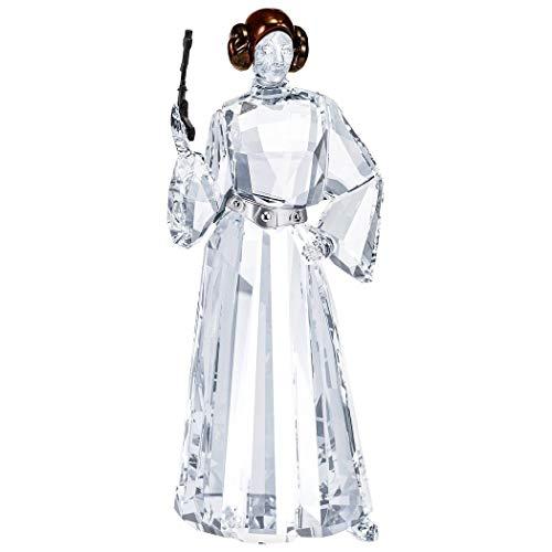 Swarovski Star Wars Prinzessin Leia Kristallfigur, Kristall, weiß, 11