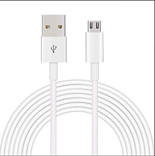 Eachdor Cable Micro USB, [2pack 0.8m+1.2m] Cable de Cable Carga Rápida y Sincronizació Compatible con Android, Samsung, Nexus, Kindle, HTC, LG, Sony, PS4 y más