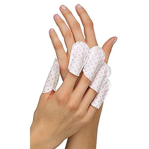 5 min masque de guérison des ongles et des cuticules, autocollant de protection des ongles MTDH pour les ongles à peler/demi-lune au salon de manucure et à la maison (2 set)