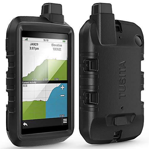 TUSITA Funda Compatible con Garmin Montana 700 - Protectora de Silicona Skin - Accesorios de Navegador GPS de Mano