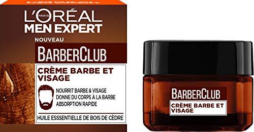 L'Oréal Men Expert - BarberClub - Crème Nourrissante pour Barbe & Visage - 50 ml