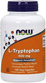 Now Foods: L-Tryptophan Supports Relaxation 500 mg, 120 vcaps