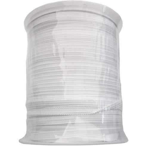 Elastic Band 1/8 inch 160Yards Elastic Strap Elastic Cord Elastic Strap Sewing DIY Crafts (1/8W x 160L, White)