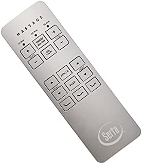 Serta Motion Perfect II and III Adjustable Bed Replacement Remote