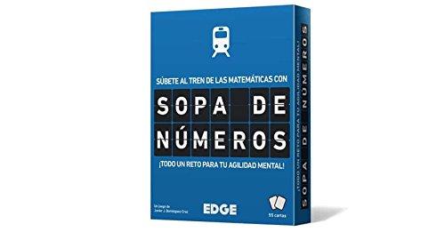 Edge Entertainment- Sopa de números - Español, Color (EEESSN01) , color/modelo surtido
