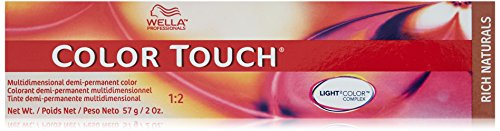 Wella Touch Hair Color, 8/81 Light Blonde/Pearl Ash, 2 Ounce