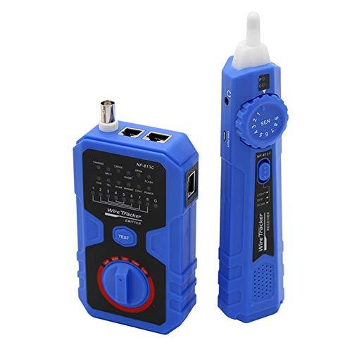 Detector de Circuito herramienta de prueba de LAN Ethernet NF-813C Cable de red Cable Tester for Masivo seguro de usar
