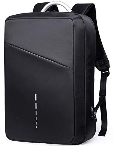 TANGCOOL ビジネスリュック ビジネスバッグ 15.6インチ ラップトップバックパック 3way USB充電ポート PC リュック 防水 通学 通勤 大容量 盗難防止 人気 バックパック 撥水加工 メンズ レディース おしゃれ 黒