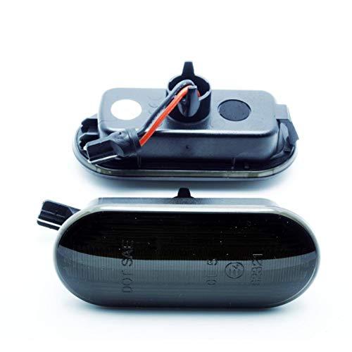 Lot de 2 ampoules LED clignotantes latérales humides pour Seat Exeo Leon Ibiza 6 L 6 K Golf E4 Mot TÜV ITV 100 % compatibles