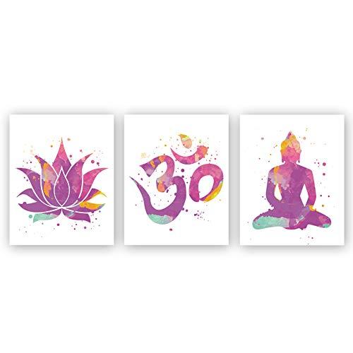 Minimalist Yoga Art Painting