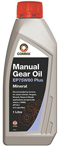 COSAN LUBRICANTS EP75W80P1L EP75W80 Plus Manual Transmission Fluid-1 L