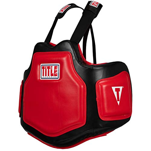 Title Boxing Classic Command Body Protector 2.0, Black/Red