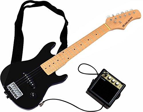 DELSON STARSINGERBK - Kit de guitarra eléctrica, color negro
