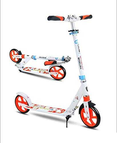 New STOOT 200mm Wheel City Scooter, with Double Suspension Foldable Height Adjustable Kick Scooter f...