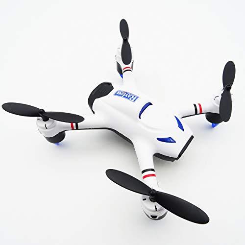 Rayline Funtom Drohne R20 Quadrocopter mit Licht, Fernbedienung 2.4GHz, WiFi und 720P Kamera